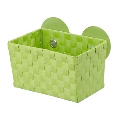 Wenko košík s přísavkami zelená