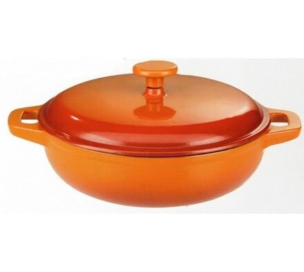 Pánev Orange Shadow, 30 cm, oranžová, >28 cm