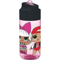 Tritan palack ivócsővel gyerekeknek Lol Surprise 430 ml