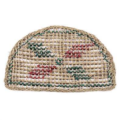 Venkovní rohožka půlkruh Viet, 35 x 60 cm