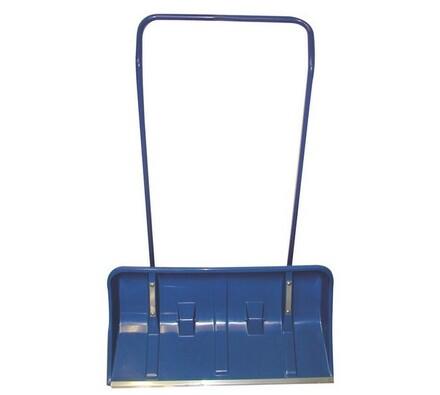 Hrablo s kolečky 82 x 42 cm modré