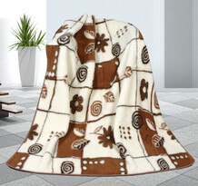 Pătură din lână Variaţie, 155 x 200 cm