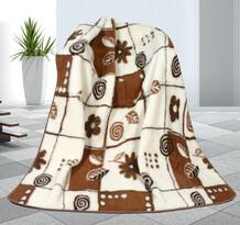 Variáció gyapjú takaró, 155 x 200 cm