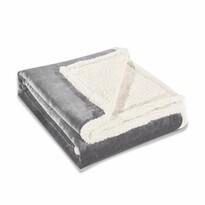 DecoKing Baránková deka Teddy sivá, 150 x 200 cm