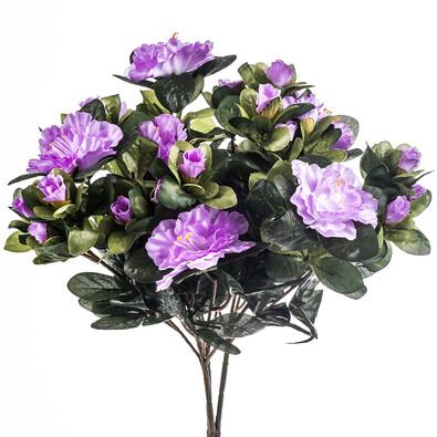 Sztuczny kwiat azalii, fioletowa