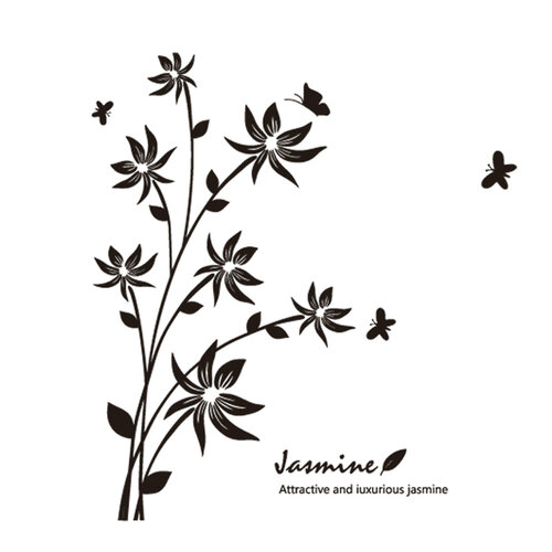 Samolepiaca dekorácia jasmin