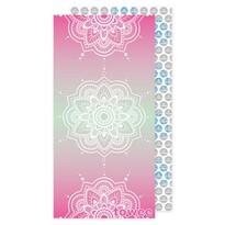 Towee Ręcznik szybkoschnący MANDALA pink,80 x 160 cm