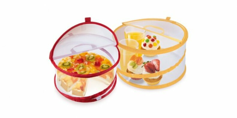 Poklop na potraviny DELÍCIA ¤ 30 cm, Tescoma,žlutá, bílá, 30 cm