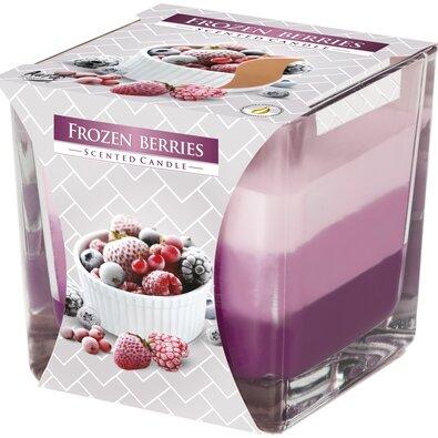 Szivárvány Fagyasztott gyümölcs illatgyertya üvegpohárban, 170 g