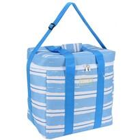 Koopman Chladicí taška Nautical modrá, 34 x 22 x 34 cm