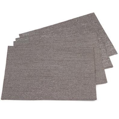 Prestieranie sivá, 30 x 45 cm, sada 4 ks
