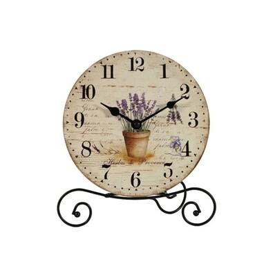 Stolní hodiny Herbes de Provence 20 cm