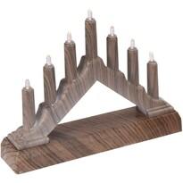 Świecznik bożonarodzeniowy Candle roof, 15,7 cm
