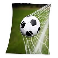 Dětská deka Fotbal, 130 x 160 cm