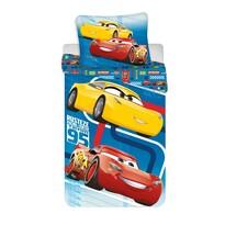 Dziecięca pościel bawełniana Cars blue 02, 140 x 200 cm, 70 x 90 cm