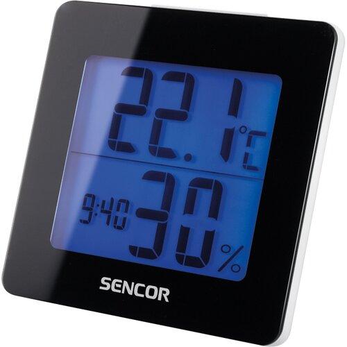 Sencor SWS 1500 B Teploměr s hodinami
