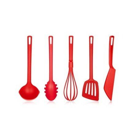 Fotografie BANQUET Sada kuchyňského náčiní CULINARIA Red, 5 ks