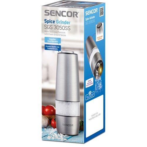 Sencor SGS 3050SS młynek elektryczny, srebrny