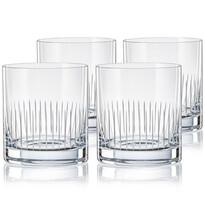 Crystalex CXBR783 4-dielna sada pohárov na whisky, 280 ml
