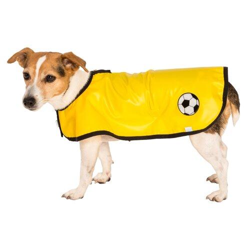"""Obleček - Pláštěnka """"Bella""""žlutá lem černá 45 cm"""