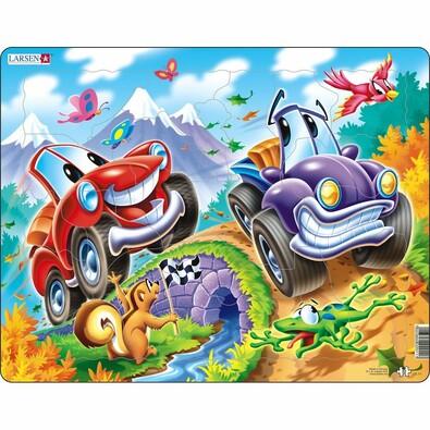 Puzzle Larsen Automobile, 22 piese