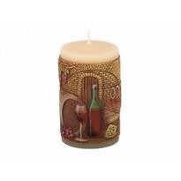 Świeczka dekoracyjna Piwnica win, 10 cm