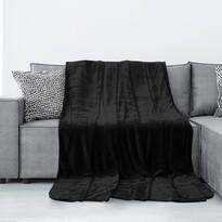 Pătură AmeliaHome Tyler, negru, 150 x 200 cm