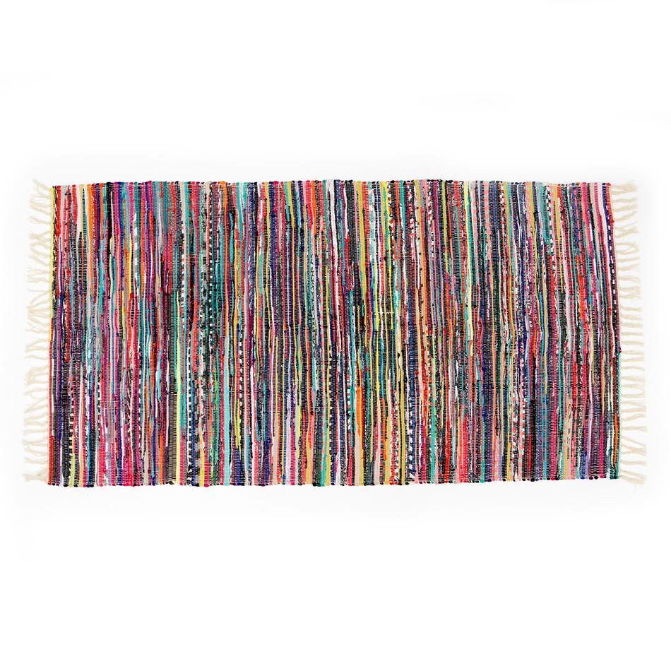 VOG Tkaný koberec farebný, 70 x 140 cm