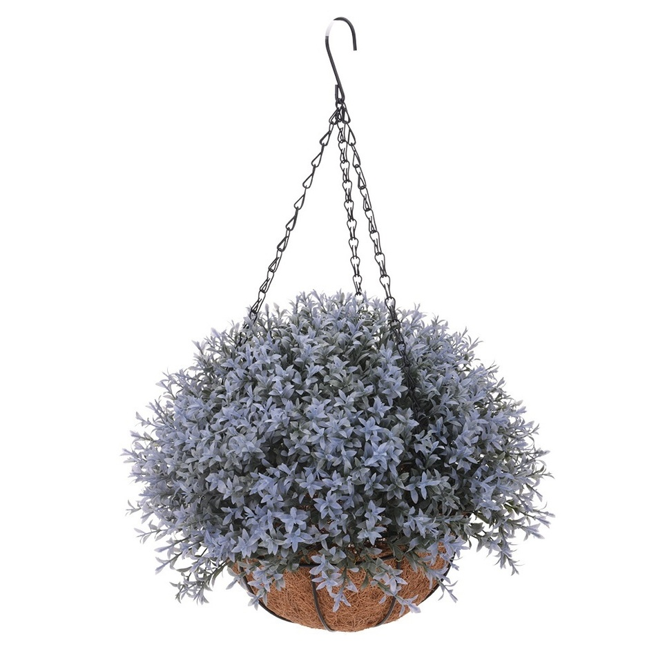 Umělá květina v závěsném květináči Mirabel, světle fialová