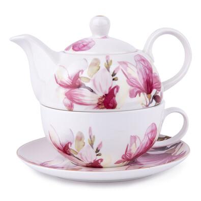 MAGNOLIA 3dílná čajová sada