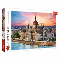 Trefl Puzzle Budova parlamentu, Budapešť, 500 dielikov