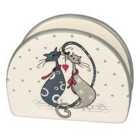 Serwetnik ceramiczny Cats