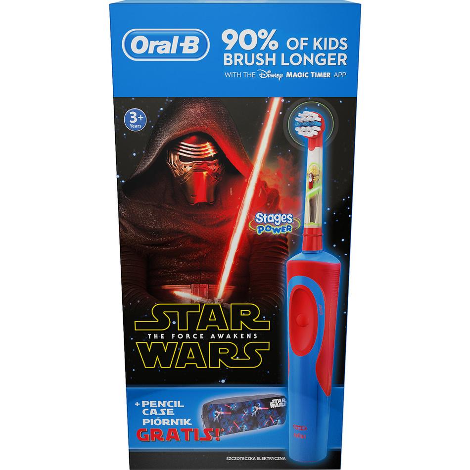 Oral-B Vitality Kids StarWars Elektrický zubní kartáček + penál