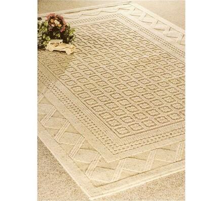 Kusový koberec Merkur, béžový, 135x200 cm