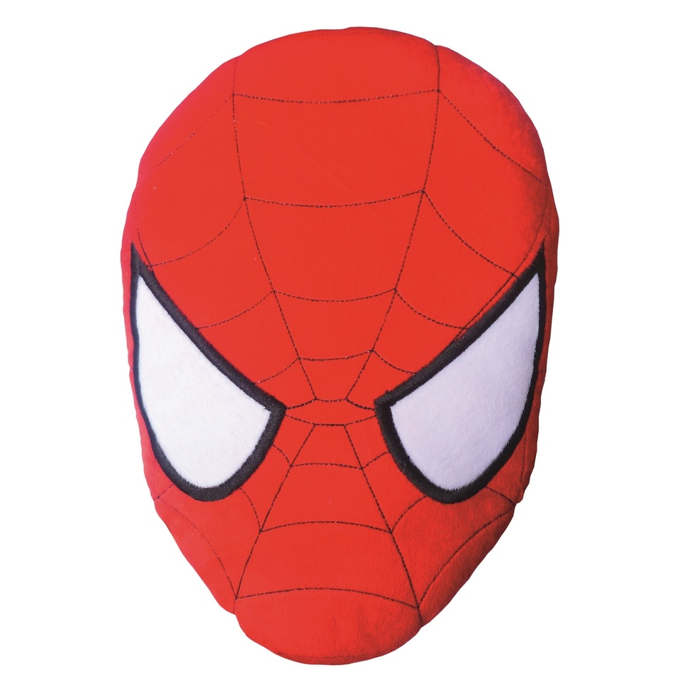 CTI Vankúšik Spiderman Mask 3D, 38 cm
