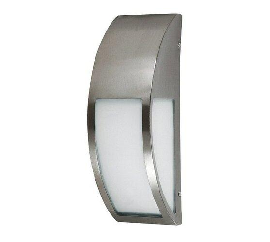 Vonkajšie nástenné svietidlo Rabalux Genova 8269 nerezová oceľ