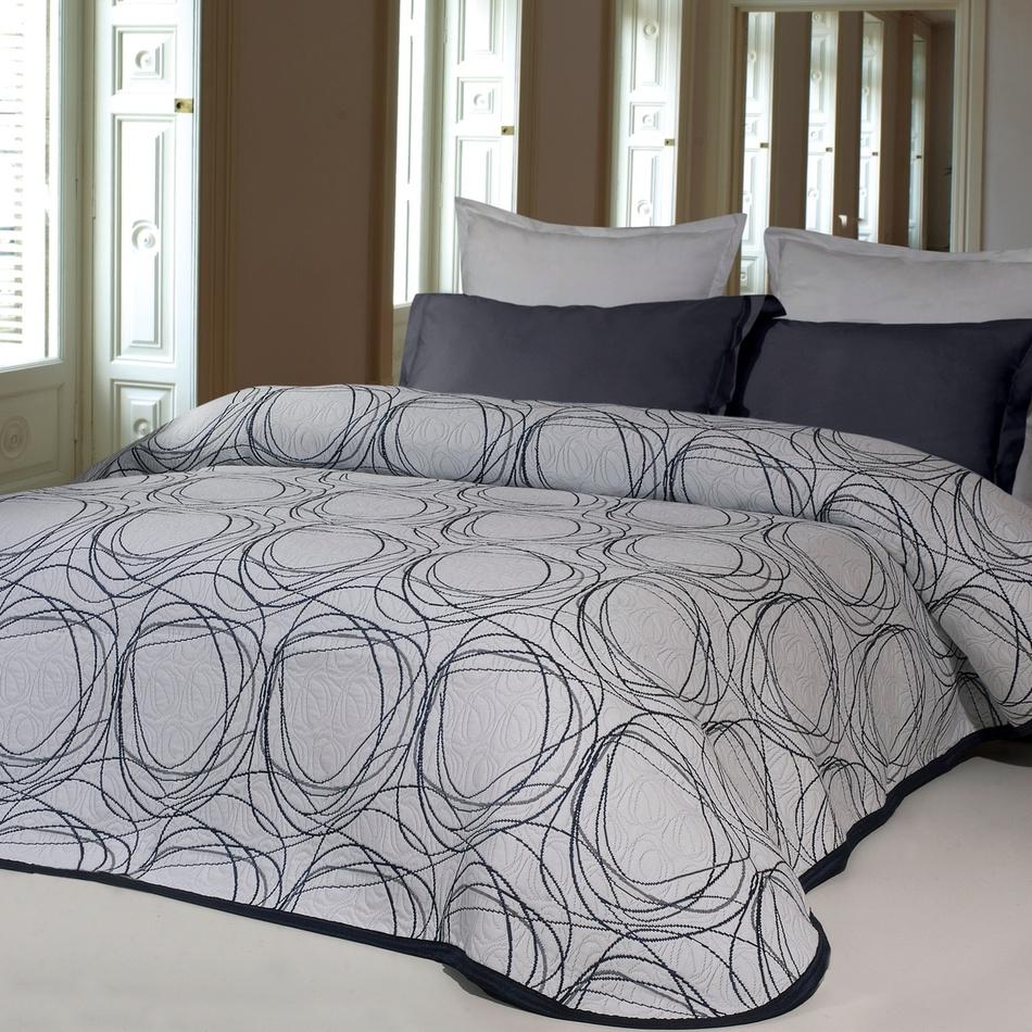Forbyt Přehoz na postel Omega jeans, 140 x 220 cm