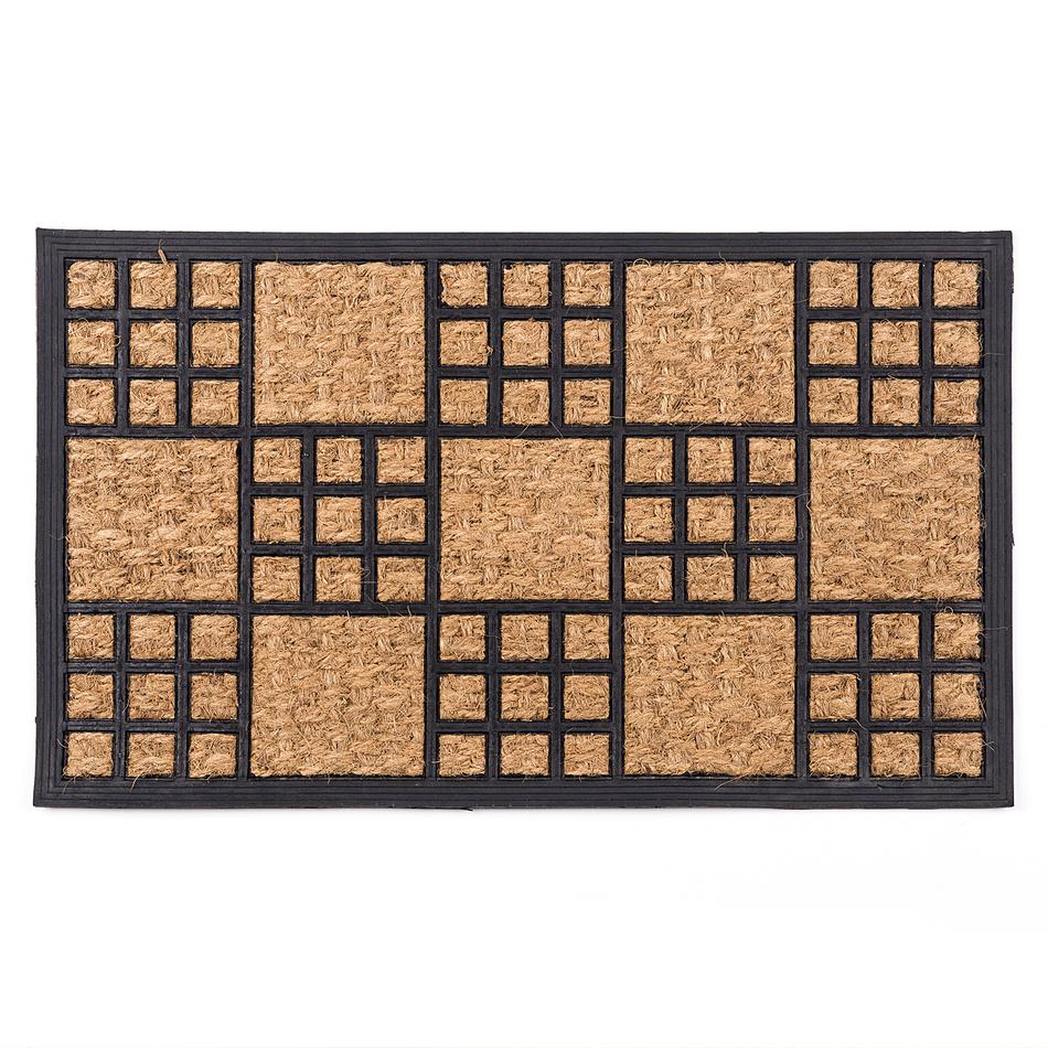 Fave Venkovní rohožka Exotic obdélník, 45 x 75 cm,