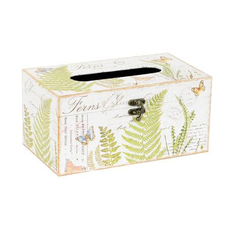 Box na kapesníky Ferns, 25 cm