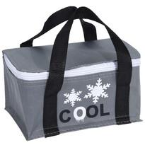 Koopman Chladiaca taška Froze sivá, 22,5 x 14,5 x 18 cm