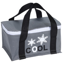 Koopman Chladicí taška Froze šedá, 22,5 x 14,5 x 18 cm
