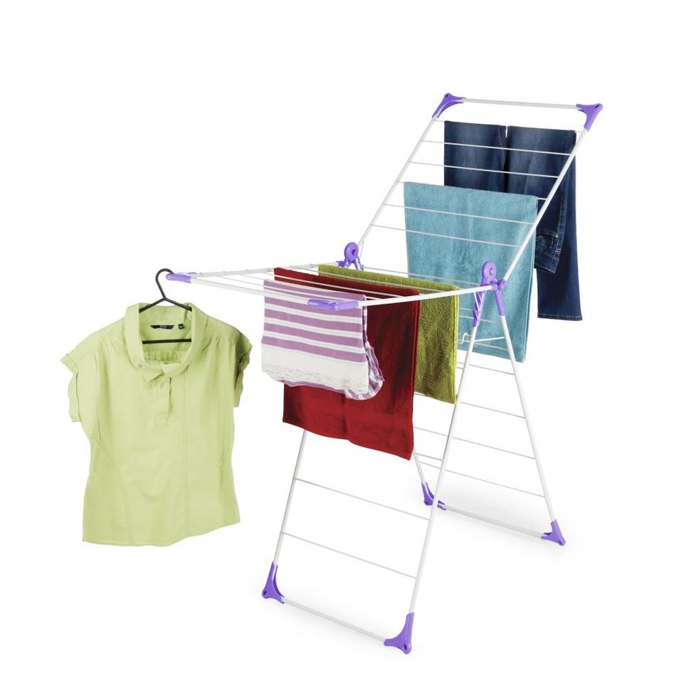 Sušák na prádlo WONDERFOLD fialová,