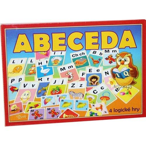 Společenská hra Abeceda