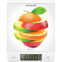 Sencor SKS 7000WH waga kuchenna, biały