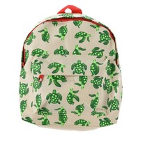 Dětský batoh Želvičky béžová, 21 x 27 x 8,5 cm