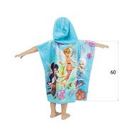 Dětské pončo Fairies, 60 x 120 cm