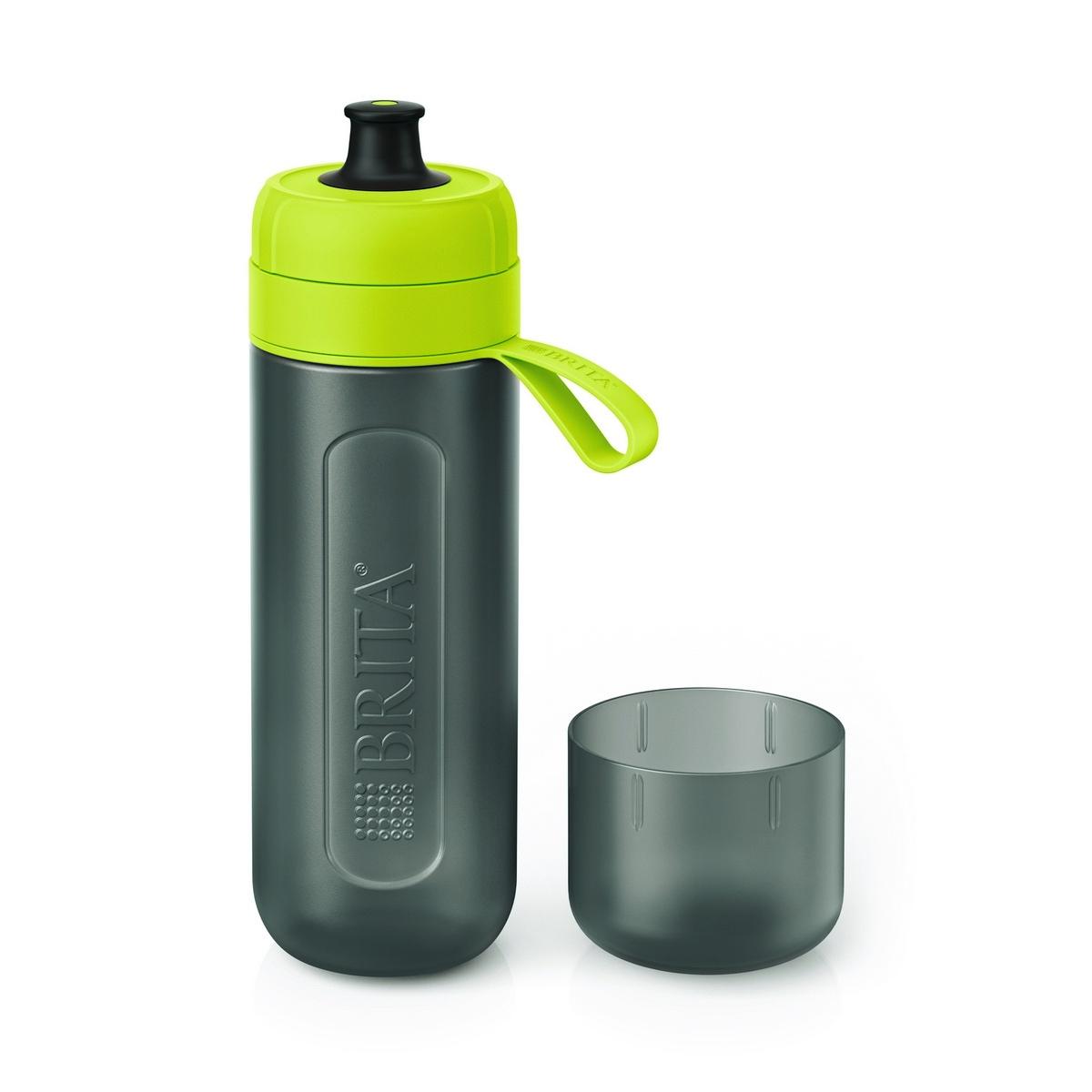 Brita Butelka filtrująca na wodę Fill  Go Active 0,6 l, limonkowy