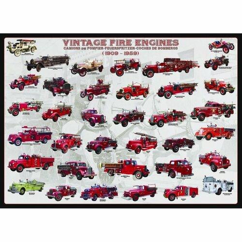 EUROGRAPHICS Puzzle Vývoj hasičských vozů 1000 dílků