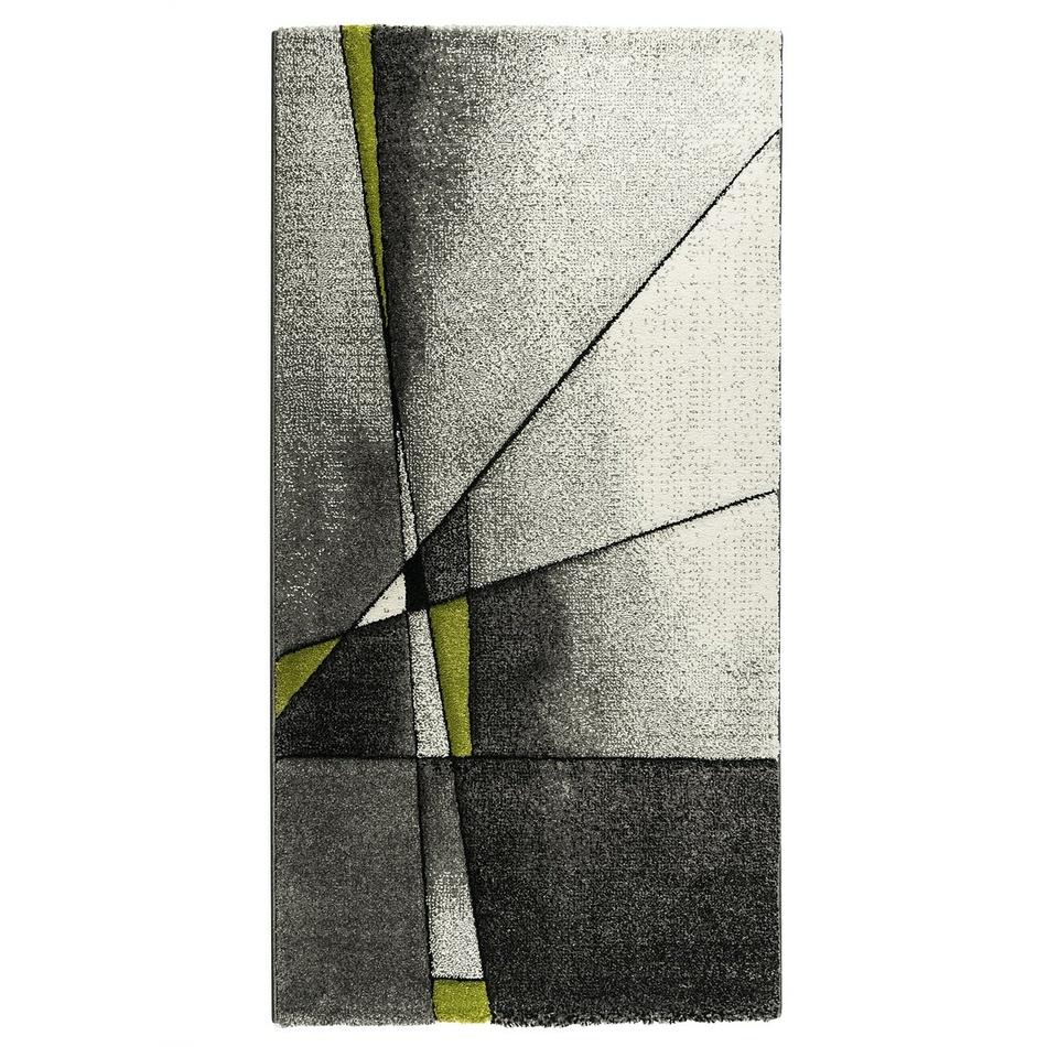 Oriental weavers moderní koberec Brilliance zelený, 80 x 150 cm