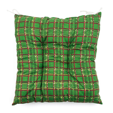 Sedák kostička zelená, 40 x 40 cm